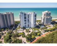 Bay Colony waterfront condominium with wide balconies