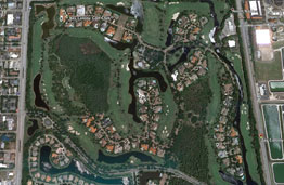 Bay Colony Golf Real Estate Map